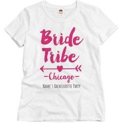 Custom Chicago City Bride Tribe