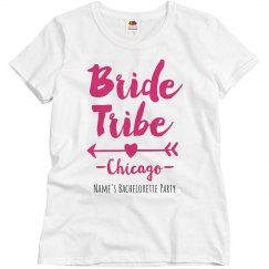 Custom Chicago City Bride Tribe