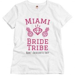 Miami Bride Tribe Custom Tee