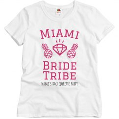 Miami Bride Tribe Custom Tee