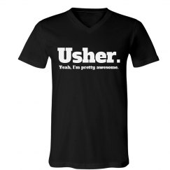 Funny Wedding Ushers Tee