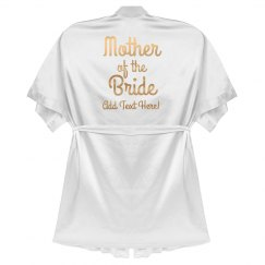 Mother of the Bride Rose Metallic