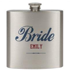 Custom Bride Flasks