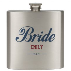 Custom Bride Flasks