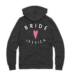 Bride Jessica Pink Heart