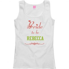 Bride to Be Tank Top