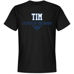 Custom Name Father Groom