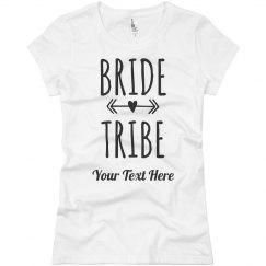Custom Bride Tribe Arrow