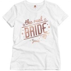 The Real Bride Custom Bachelorette