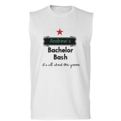 Unisex Basic Promo Sleeveless Tee