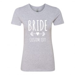 Bride Custom Boyfriend Tee