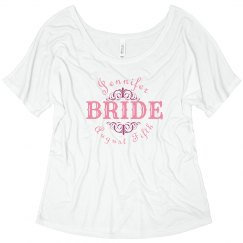 Bride Wedding Date