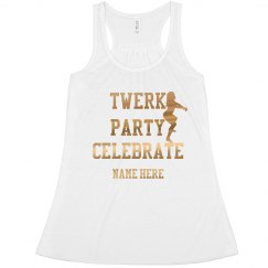 Twerk Party Celebrate Gold