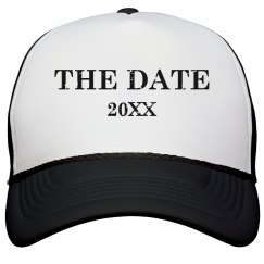 Save The Date Hat