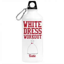 White Dress Work Out