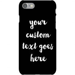 Just Married Custom Phone Case