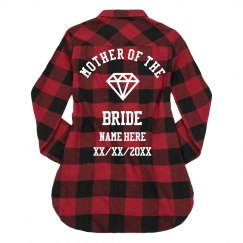 Custom Mother Of The Bride Flannel