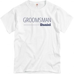 Groomsman In Blue