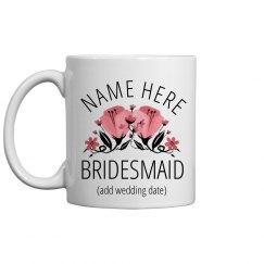 Custom Bridesmaid Proposal Mug