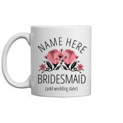 Custom Bridesmaid Proposal Mug