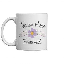 Custom Name Bridesmaid Gift