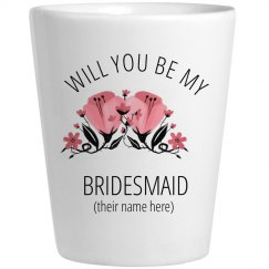 Bridesmaid Proposal Shotglass