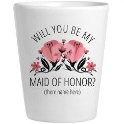 Custom MOH Proposal Shotglass