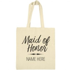 Custom Maid Of Honor Proposal Bag
