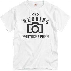 Wedding Photographer Tee