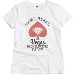 Custom Vegas Bachelorette Party