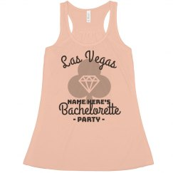 Custom Las Vegas Bachelorette Flowy Tank