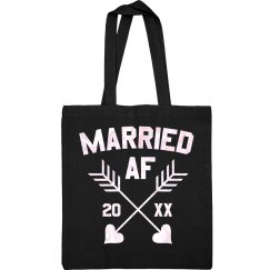 Married AF Custom Tote