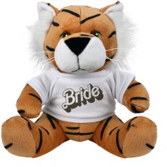 Bride Plush Tigeress