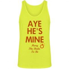 Aye! He's Mine