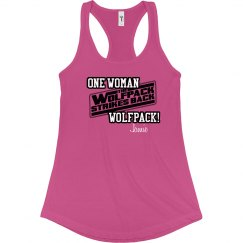 One Woman Wolfpack Tee
