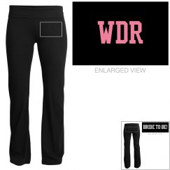 WDR - Wedding Dress Ready Yoga Pants