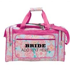 Custom Bride Luggage Gift
