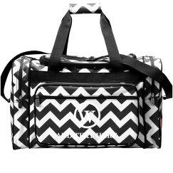 Custom Printed Inital Travel Bag