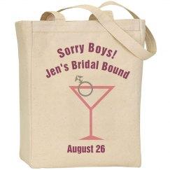 Bridal Bound Tote