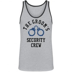 The grooms security crew