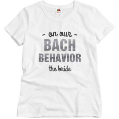 On Our Bach Behavior - Bride