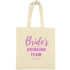 Bride's Drinking Team Tote