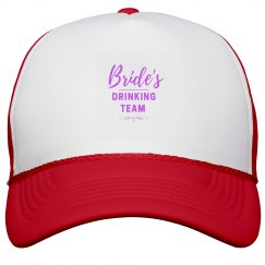 Bride's Drinking Team Hat