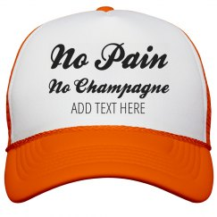Pain For Champagne Bride's Fitness