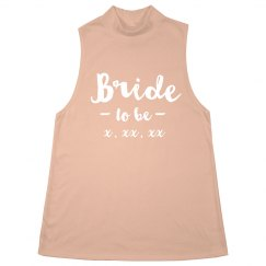 Bride to Be Custom Halter