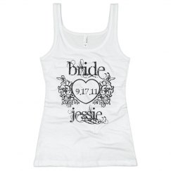Jessie Heart Bride Tank