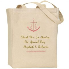 Nautical Welcome Tote Bag
