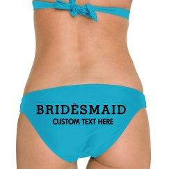 Bridesmaid Custom Logo