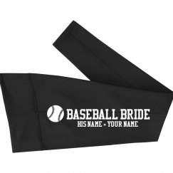 Custom Baseball Bride Leggings