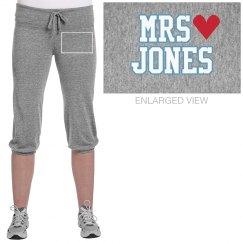 Mrs. Jones w/Red Heart